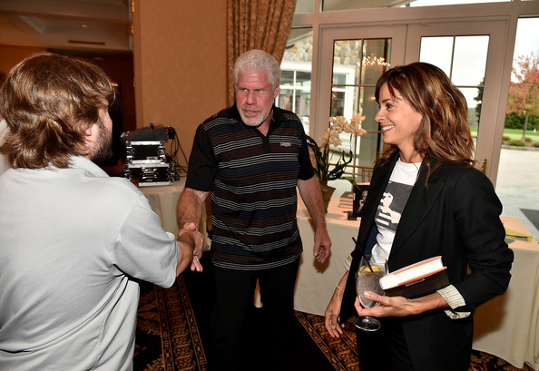 SAG 2nd Annual New York Golf Classic [event,conversation,employment,party,stephanie szostak,actors,ron perlman,haley joel osment,l-r,new york,briarcliff manor,sag 2nd,new york golf classic,screen actors guild foundation 2nd annual new york golf classic]