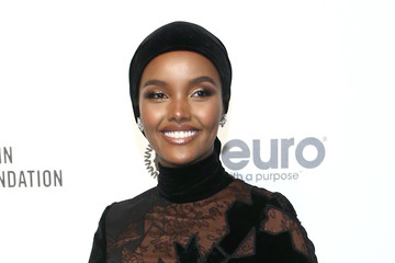 Halima Aden IMDb LIVE Presented By M&M'S At The Elton John AIDS Foundation Academy Awards Viewing Party