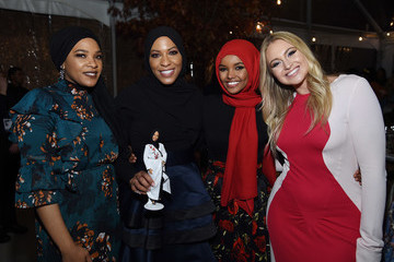 Halima Aden Glamour 2017 Women Of The Year Awards - Dinner Presented By SoFi, Held At Skylight At Kings Theater