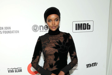 Halima Aden 28th Annual Elton John AIDS Foundation Academy Awards Viewing Party Sponsored By IMDb, Neuro Drinks And Walmart - Arrivals