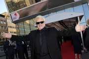Heino attends the Hall Of Fame gala at Deutsches Fussballmuseum on April 01, 2019 in Dortmund, Germany.