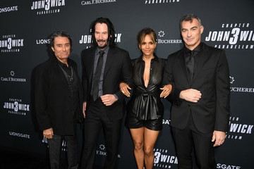 Halle Berry Keanu Reeves Special Screening Of Lionsgate's 'John Wick: Chapter 3 - Parabellum' - Red Carpet