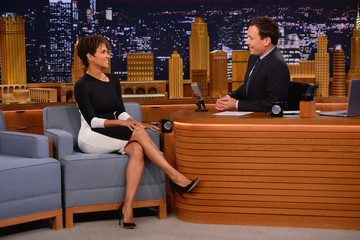 Halle Berry Halle Berry Visits 'The Tonight Show'