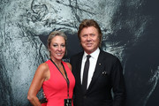 Virginia Burmeister and Richard Wilkins  attend the Australian Premiere of Halloween at Event Cinemas George Street on October 23, 2018 in Sydney, Australia.