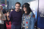Eli Roth and Slash attend Halloween Horror Nights 2018 at Universal Studios Hollywood on September 14, 2018 in Los Angeles, California.