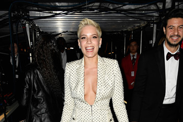 Halsey The 59th GRAMMY Awards -  Backstage