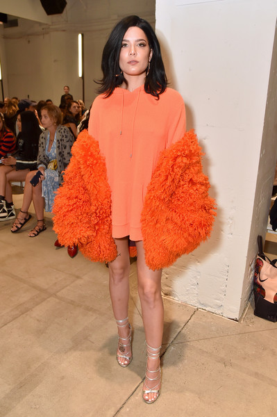 York Fashion Week The Shows Halsey Photos Dion Lee Front Row September 2017 New