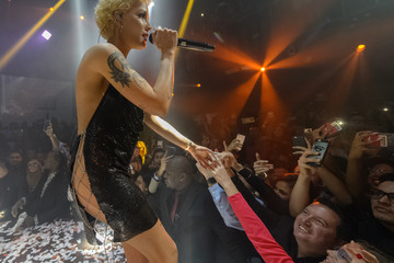 Halsey G-Eazy + Halsey Ring In The New Year 2018 At E11EVEN Miami