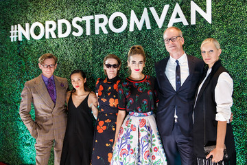 Hamish Bowles Nordstrom Vancouver Store Opening Gala