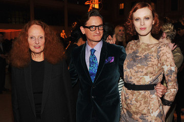 Hamish Bowles Grace Coddington HBO's In Vogue: The Editor's Eye Screening At The Met