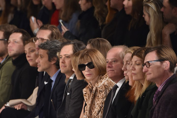Hamish Bowles Virginia Smith Ralph Lauren - Front Row - Fall 2016 New York Fashion Week: The Shows