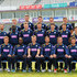 James Vince Jimmy Adams Photos - (Back Row) Adam Wheater, Joe Gatting, William Smith, Sean Terry, Michael Bates, (Middle Row) Tom Barber, Ruel Brathwaite, David Balcombe, James Tomlinson, Christopher Wood, Matthew Coles, Lewis McManus, (Front Row) Liam Dawson, Michael Carberry, Jimmy Adams, James Vince, Sean Ervine and Daniel Briggs pose for the camera's in their One Day kit during the Hampshire CCC Photcall at the Ageas Bowl on April 3, 2014 in Southampton, England. - Hampshire CCC Photo Call