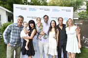 Alec Baldwin, Hilaria Baldwin, Carmen Baldwin, Plum Nugent,  David Nugent, Violet Nugent, Stuart Match Suna and Anne Chaisson attend the Hamptons International Film Festival SummerDocs 2015 - Best Of Enemies At Guild Hall In East Hampton on July 11, 2015 in East Hampton, New York.