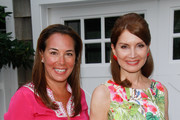 (L-R) Samantha Yanks and Jean Shafiroff attend Hamptons Magazine Celebration of The Children's Justice Campaign Of Joan & George Hornig on August 16, 2014 in Water Mill, New York.