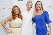 (L-R) Patrice Lenowitz, Kelly Rutherford and Anne Stevenson attend Hamptons Magazine Celebration of The Children's Justice Campaign Of Joan & George Hornig on August 16, 2014 in Water Mill, New York.