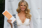 Christie Brinkley attends Hamptons Magazine Celebration of The Children's Justice Campaign Of Joan & George Hornig on August 16, 2014 in Water Mill, New York.