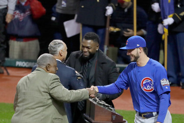Hank Aaron World Series - Chicago Cubs v Cleveland Indians - Game Two