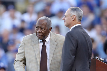 Hank Aaron World Series - Houston Astros v Los Angeles Dodgers - Game Two