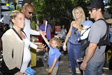 Hank Baskett Safe Kids Day Los Angeles 2014