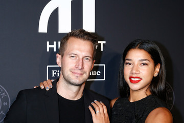 Hannah Bronfman Brendan Fallis Hublot Celebrates Grand Opening of Hublot Fifth Avenue and 10 Year Anniversary of All Black Collection