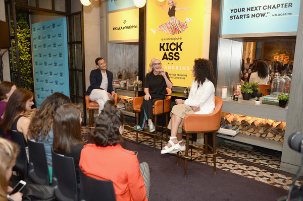 Audible Celebrates The Release Of Audible Original 'Kick Ass With Mel Robbins' At Sixty Soho Hotel