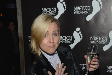 Hannah Hart Barefoot Bubbly Toasts to OUT