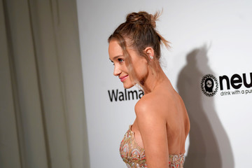 Hannah Jeter 28th Annual Elton John AIDS Foundation Academy Awards Viewing Party Sponsored By IMDb, Neuro Drinks And Walmart - Arrivals