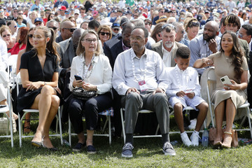 Hannah Jeter 2021 National Baseball Hall of Fame Induction Ceremony
