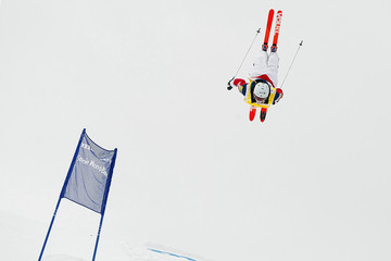Hannah Kearney FIS Freestyle Ski World Cup - Men's and Women's Dual Moguls