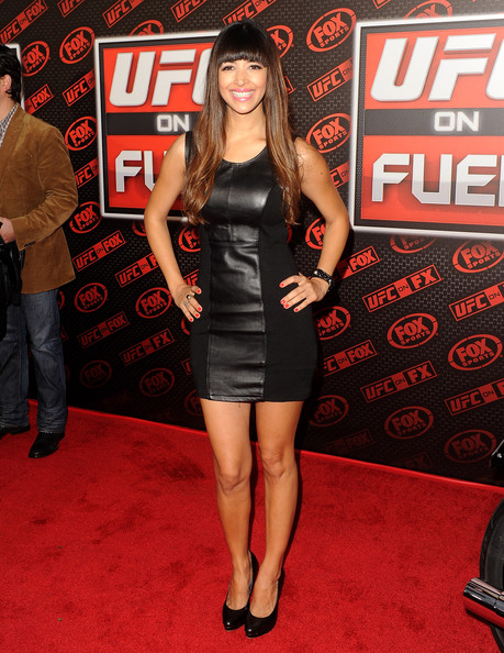 hannah simone photos photos   ufc on fox live heavyweight