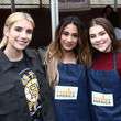 Hannah Zeile Celebrity Friends Of Feeding America Give Back To Celebrate The Holidays And Raise Awareness Around The Issue Of Hunger