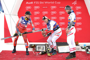 Hannes Reichelt Kjetil Jansrud Audi Birds of Prey World Cup - Super G