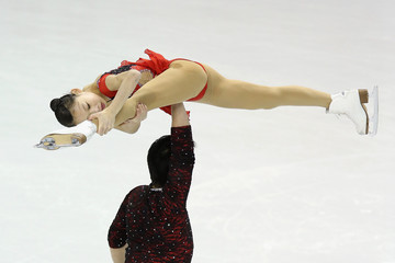 Hao Zhang World Figure Skating Championships: Day 3