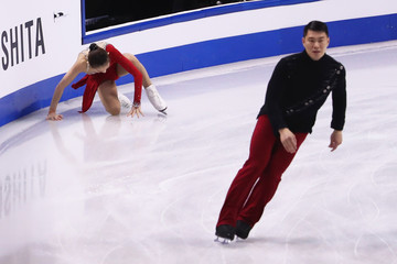 Hao Zhang ISU World Figure Skating Championships 2016 - Day 5