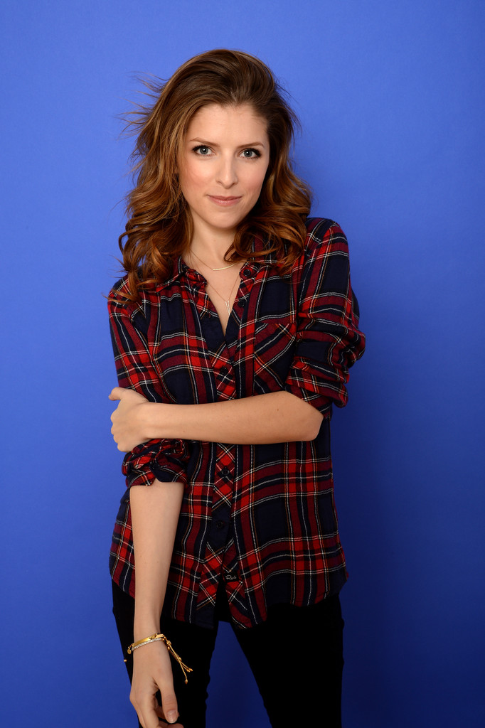 Actress Anna Kenrick poses for a portrait during the 2014 Sundance Film Festival at the Getty Images Portrait Studio at the Village At The Lift on January 18, 2014 in Park City, Utah.