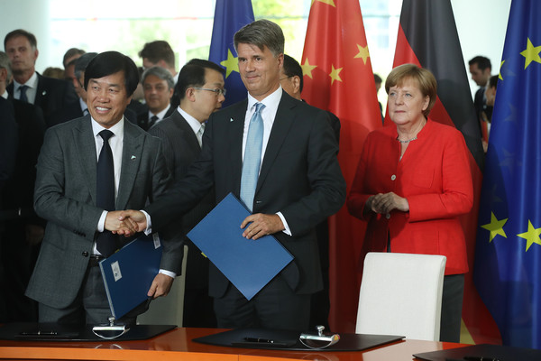Germany And China Hold Government Consultations