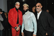 Miles Chamley Watson, Odell Beckham Jr., and Lono Brazil attend Harlem's Fashion Row Special Event during New York Fashion Week: The Shows at Gallery II at Spring Studios on February 6, 2019 in New York City.