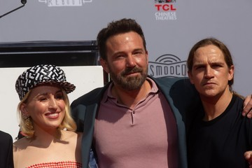Harley Quinn Smith Kevin Smith And Jason Mewes Hands And Footprint Ceremony At TCL Chinese Theatre