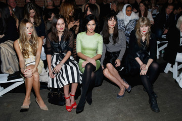 Harley Viera-Newton Tennessee Thomas Christian Siriano - Front Row - Mercedes-Benz Fashion Week Fall 2014