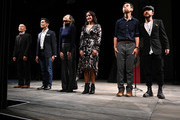 Francis Jue, Moses Villarama, Jane Lui, Courtney Reed, Joe Ngo, and Abraham Kim perform during Harold And Mimi Steinberg Charitable Trust Hosts 2019 Steinberg Playwright Awards at Lincoln Center Theater, Mitzi E. Newhouse Theater January 13, 2020 in New York City.