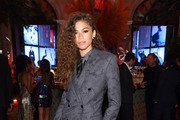 """Zendaya attends as Harper's BAZAAR celebrates """"ICONS By Carine Roitfeld"""" at The Plaza Hotel presented by Cartier - Inside on September 06, 2019 in New York City."""