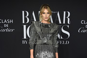 """Tori Praver attends as Harper's BAZAAR celebrates """"ICONS By Carine Roitfeld"""" at The Plaza Hotel presented by Cartier - Arrivals on September 06, 2019 in New York City."""