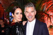 "Louise Roe and Eric Rutherford attend as Harper's BAZAAR celebrates ""ICONS By Carine Roitfeld"" at The Plaza Hotel presented by Cartier - Inside on September 06, 2019 in New York City."
