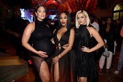 """Ashley Graham, Saweetie, and Bebe Rexha attend as Harper's BAZAAR celebrates """"ICONS By Carine Roitfeld"""" at The Plaza Hotel presented by Cartier - Inside on September 06, 2019 in New York City."""