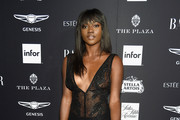 "Zuri Tibby  attends as Harper's BAZAAR Celebrates ""ICONS By Carine Roitfeld"" at the Plaza Hotel on September 7, 2018 in New York City."