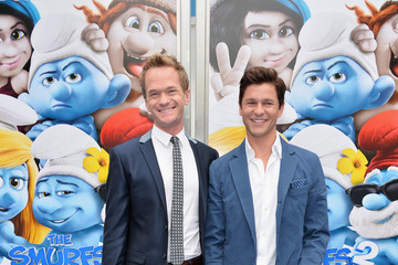 "Harper Grace Burtka-Harris Premiere Of Columbia Pictures' ""Smurfs 2"" - Red Carpet"
