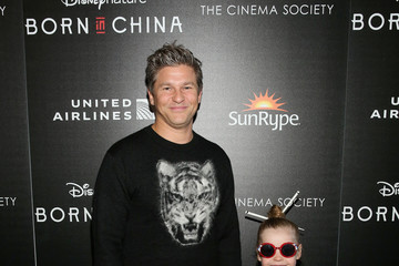 Harper Grace Burtka-Harris Dr. Jane Goodall, Director Lu Chuan and Producers Roy Conli and Brian Leith Arrive at the New York Premeire of Disneynature's 'Born in China'