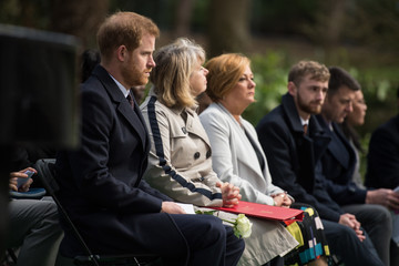 Harriet Baldwin The Duke Of Sussex Visits Birmingham