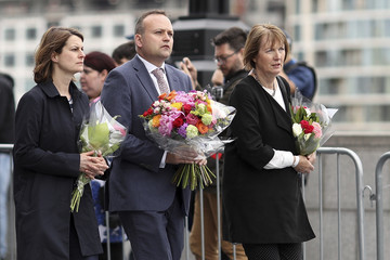 Harriet Harman Vigils Are Held for the Victims of the London Bridge Terror Attacks