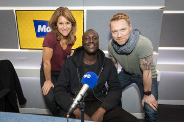 Harriet Scott Stormzy Visits Magic FM